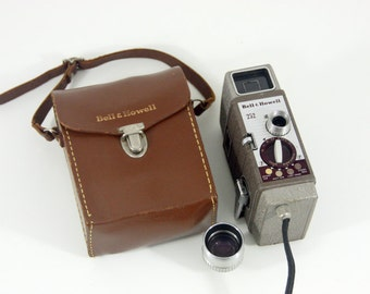 Bell & Howell 252 Movie Camera
