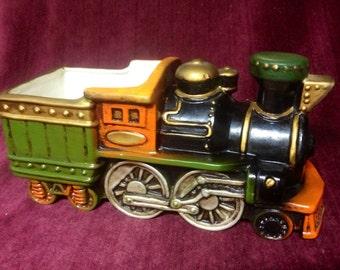 Vintage Inarco Porcelain Locomotive