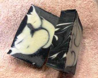 Sandalwood Activated Charcoal Swirl