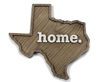Texas home. Rough Cut Mill Wood Wall Hanging