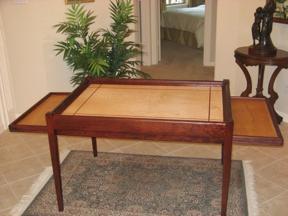 Items Similar To Jigsaw Puzzle Table On Etsy