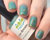 pink elephants and lemonade glitter nail polish