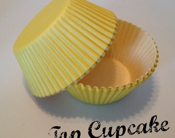 Yellow Cupcake Liners