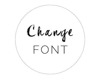 Change Blog Theme Fonts