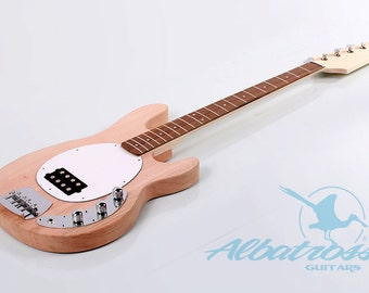 DIY Electric Bass Guitar Kit Bolt On Mahogany Body and Neck Albatross BK026