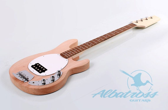 diy electric bass guitar kit bolt on mahogany by albatrossguitars. Black Bedroom Furniture Sets. Home Design Ideas