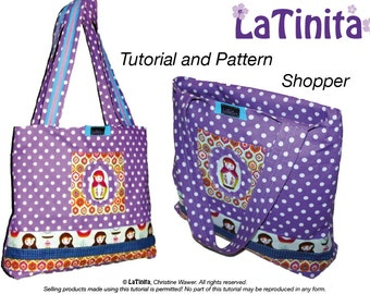 PDF Ebook Tutorial and Pattern Shopper