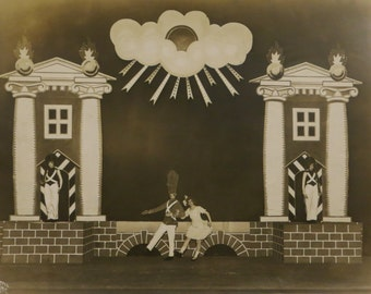 Babes In Toyland - Original 1910's Chicago Theatre Photograph By H A Atwell Studio 14 x 11 - Free Shipping