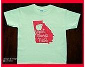 Cute Clothes For Women In Ga Georgia Peach Shirt Georgia