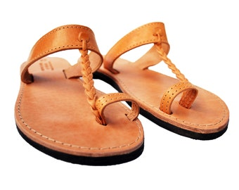 Sandals for Women in Natural Brown Color