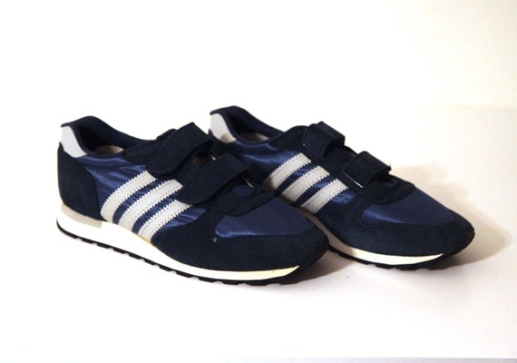 vintage 80er jahre jogger laufen schuhe herren 8 jox adidas. Black Bedroom Furniture Sets. Home Design Ideas