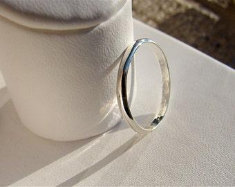 Silver band, silver wedding band, plain band, wedding band, stacking, sterling band, sterling ring, sterling silver band, silver ladies band