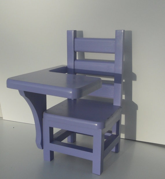 student desk chair all wood desk chair for american girl sized dolls