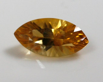 Marquise Concave Cut Citrine - 5mm x 10mm