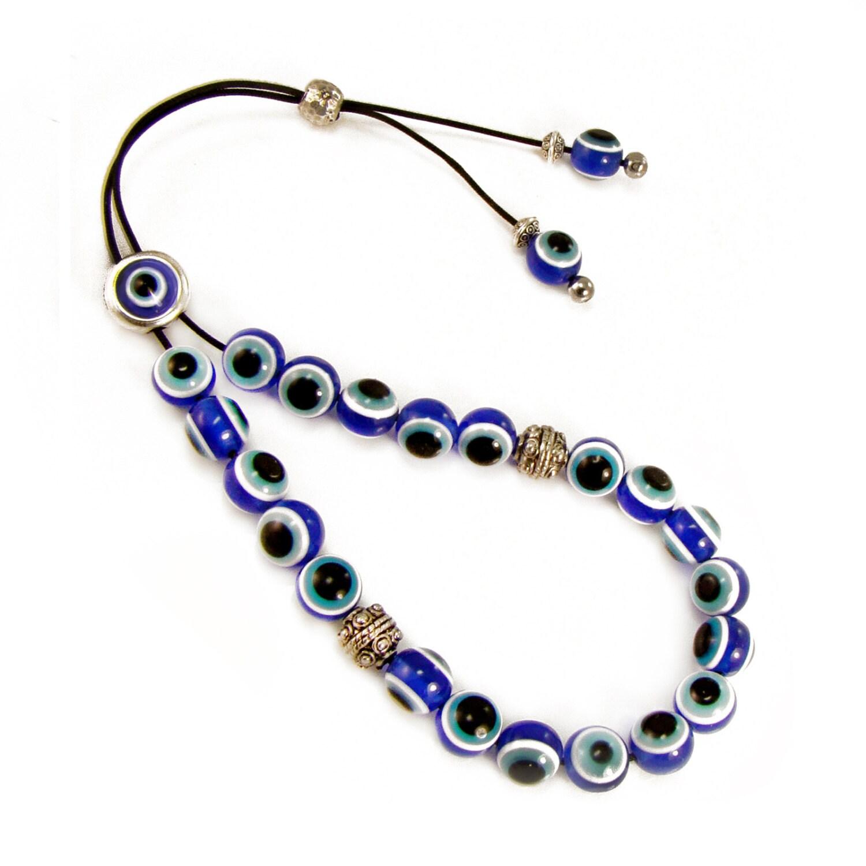 evil eye komboloi greek worry beads blue acrylic eye