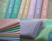 """59"""" Wide Soft Tulle Fabric Bridal Veil Lace Tulle Gauze Fabric For Weddings, Headbands, Hats, Tutu skirt, Gowns"""