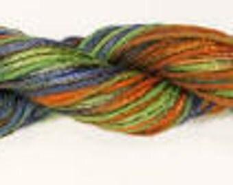 Trendsetter Zoe Yarn Color 61 - Montana (Green Orange Blue)   Special Pricing!!  Regular price is 10.95