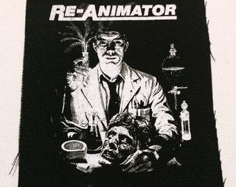 REANIMATOR patch punk horror zombies hp lovecraft  Free Shipping
