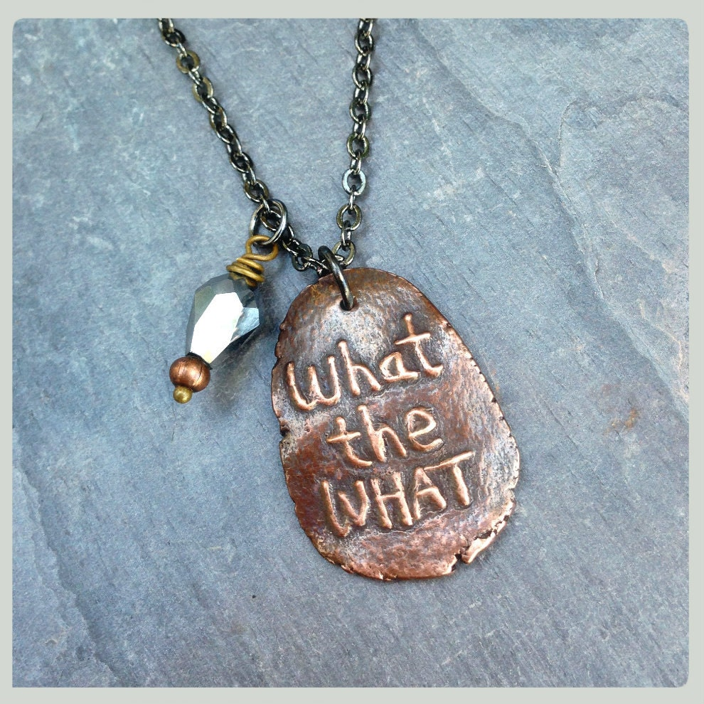 what the what necklace liz lemon says tina fey jewelry 30
