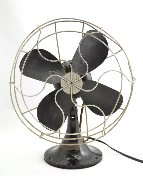 Table Top Oscillating Fan : Vintage s emerson in desk table top adjustable
