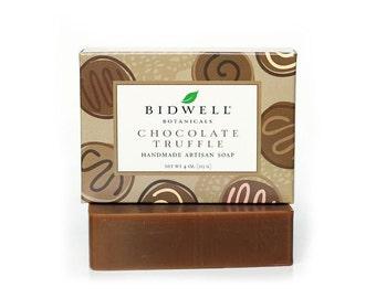 Chocolate Truffle Handmade Artisan Soap