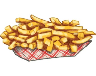 French Fries Basket Clip Art French fry basket cut out wall