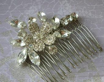 Rosslyn Hair Comb - Diamante Headpiece
