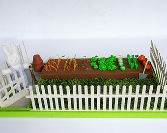 Miniature vegetable patch