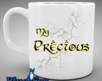Funny Coffee Mug,Geekery Mug,My Precious,Hobbit mug,Lord of the Rings,Coffee Mug,Coffee Cup, MUG-016