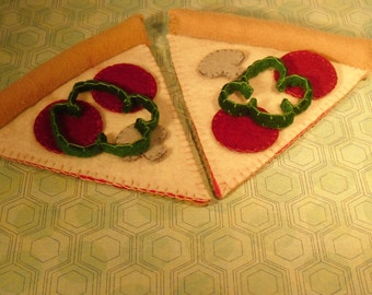 Felt Food Pizza (2 Slices)