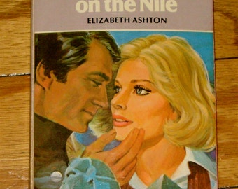 Vintage Book - Moonlight On The Nile by: Elizabeth Ashton - A Harlequin Romance #2300 - 1979 Mass Market Paperback