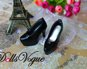 1/3 1/4 BJD high heels Shoes Supper dollfie MSD Luts - Black DV1-027