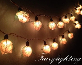 Popular items for flower string lights on Etsy