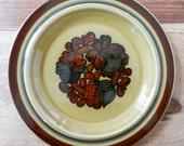 Retro salad plate Arabia Finland Otso Mid. Century Scandinavian pottery 70s