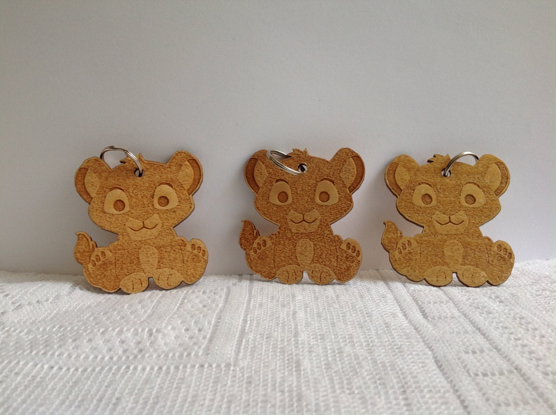 12 lion king key chain baby lion king favors by marshmallowfavors