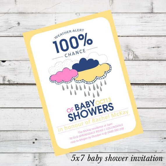Baby Shower Invitation DIY Printable File You By