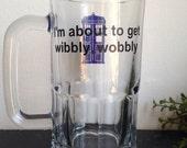Wibbly wobbly beer mug