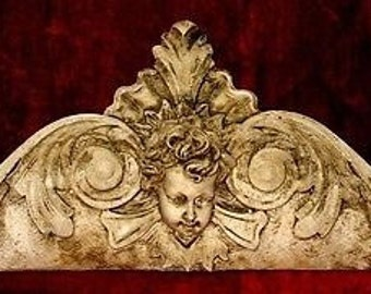 "15"" Angels Cherubs With Wings Eros Frieze Plaque Home Decor sconce"