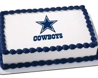 Dallas cowboys cake Etsy