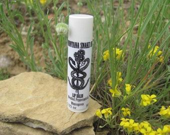 Menthol, Peppermint & Wintergreen Lip Balm Tube