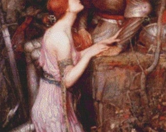 Lamia and the Soldier PDF Cross Stitch Pattern
