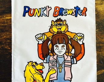 Vintage Punky Brewster Party Loot Bags - Lot of 30