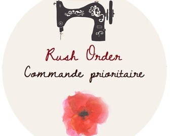 RUSH ORDER * additional custom option*
