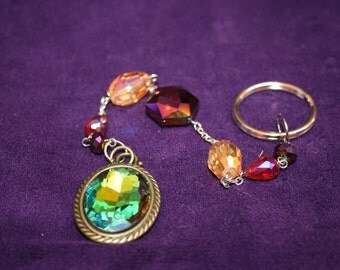 Color Changing Jeweled Key Chain, 10 inches