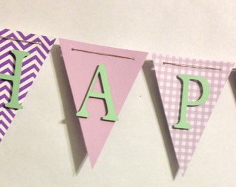 Happy Birthday Banner, 1st Birthday, Party Decorations, Birthday Party