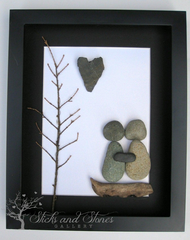 unique engagement gift personalized couple 39 s christmas. Black Bedroom Furniture Sets. Home Design Ideas