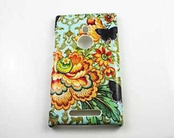 Cathay Rose Nokia Lumia 925 Hard Shell Case Skin Protection Cover