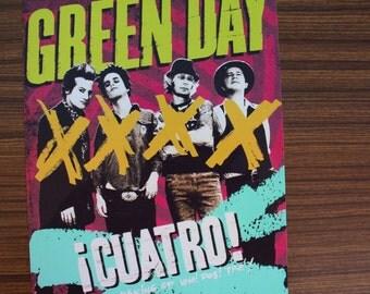 Green Day - Cuatro! Mini Poster (Size A4)