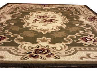 Popular Items For Floral Rug On Etsy