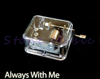 Musical Box/Music Box Melody Spirited Away Theme Song Always With Me Small Party Gift
